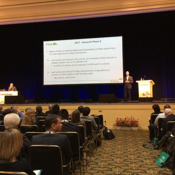 SQM es protagonista en la principal conferencia internacional sobre agricultura de alta tecnología
