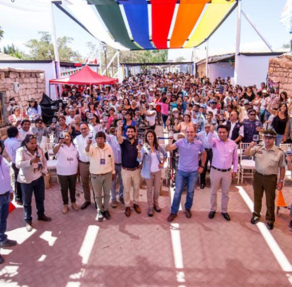 10 mil personas disfrutaron la VI Fiesta de la Vendimia Toconao 2018
