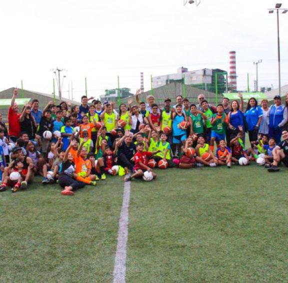 SQM y Fundación Ganamos Todos pegan un home run en Tocopilla