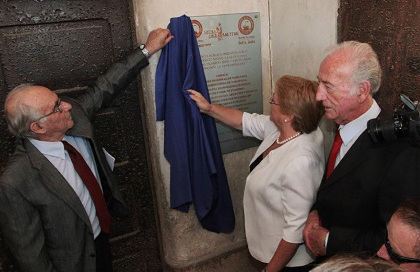 Corporación Museo del Salitre destacó a SQM por su aporte permanente