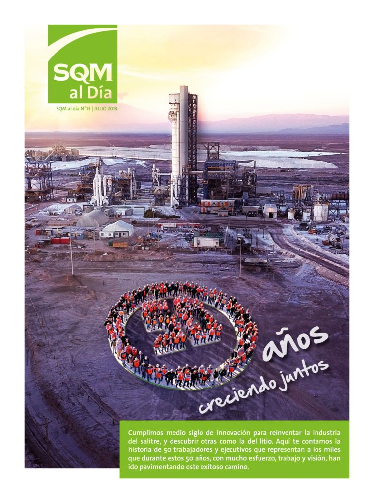 50 years growing together - SQM | SQM