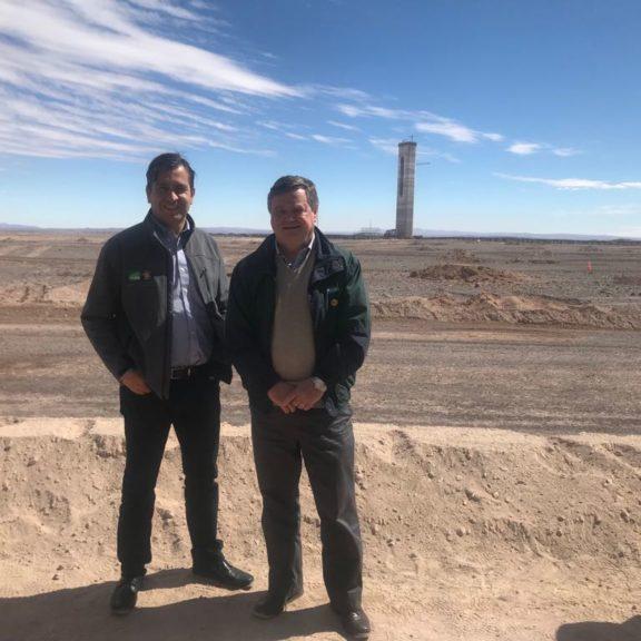 SQM en la primera planta termosolar de América Latina