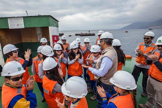 Puerto de Tocopilla abre sus puertas a la comunidad escolar