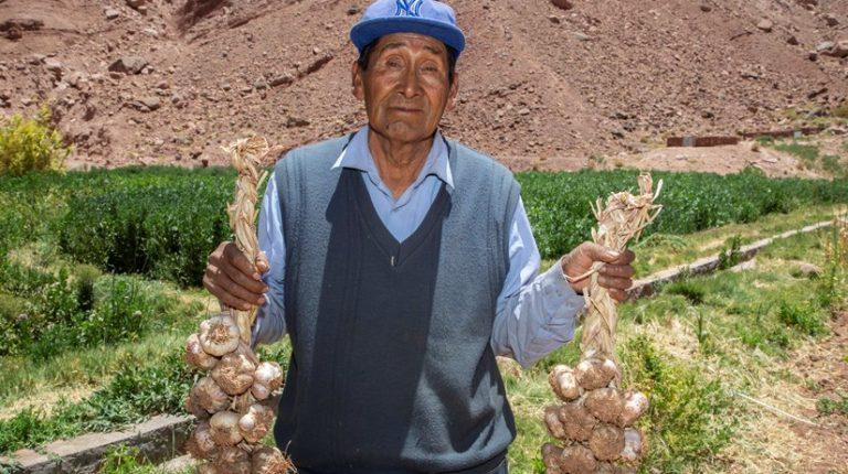 SQM potencia agricultura de comunidad indígena