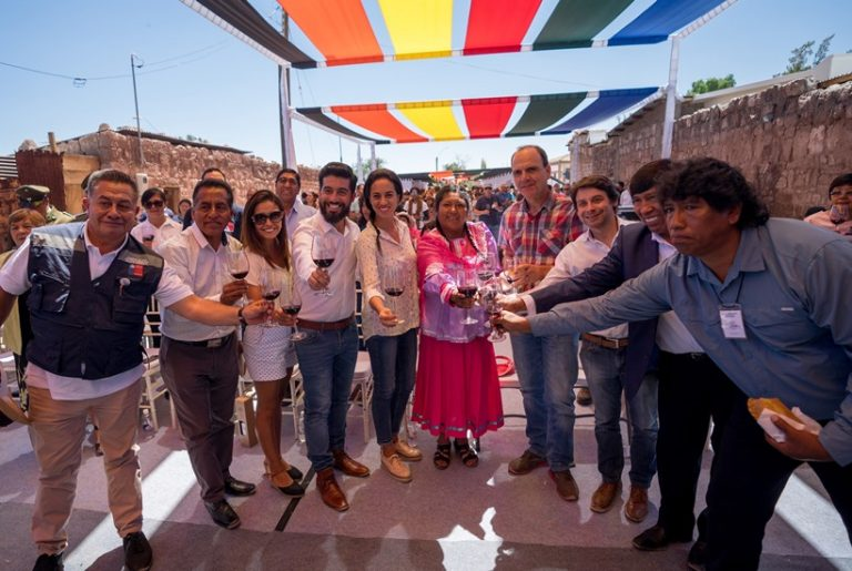 El Vino Ayllu deslumbró con siete nuevas cepas en la VII Fiesta de la Vendimia de Toconao
