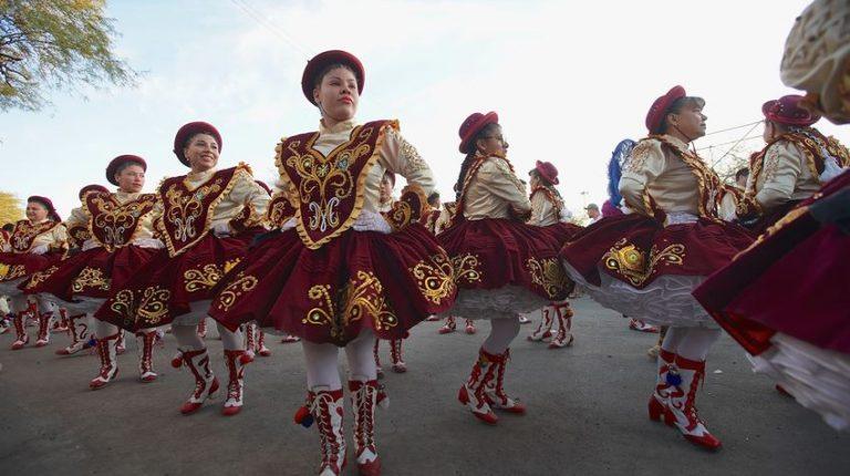 Bailes pampinos participan en La Tirana