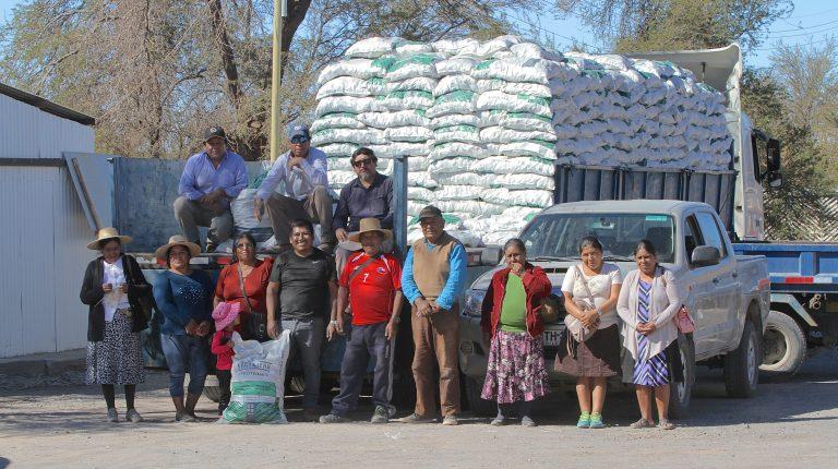 Potencian ganadería de Pozo Almonte