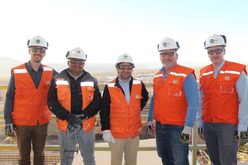 Viceministro de Tierras y Minerales del Ministerio de Recursos Naturales de Canadá visitó operación de litio en Antofagasta