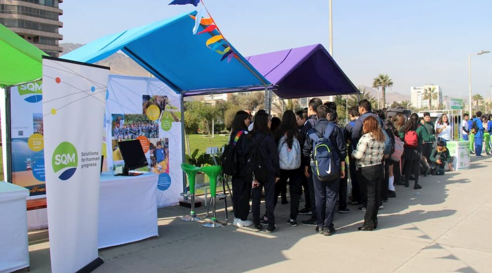SQM Participated in the First Version of the Innovation Carnival: Going Green in Antofagasta