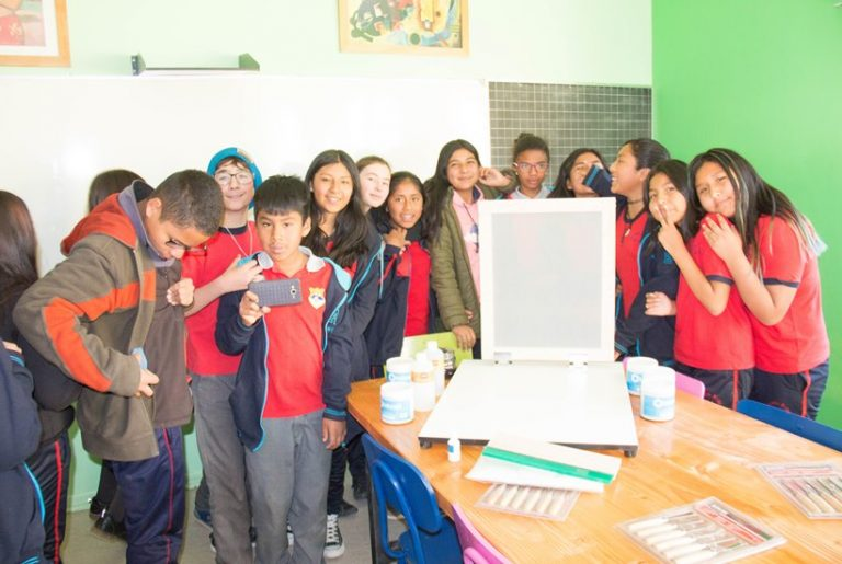 First Art Room Inaugurated in San Pedro de Atacama