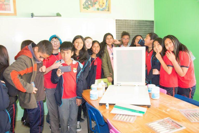 En la Comuna de San Pedro de Atacama se inauguró su primera sala de arte