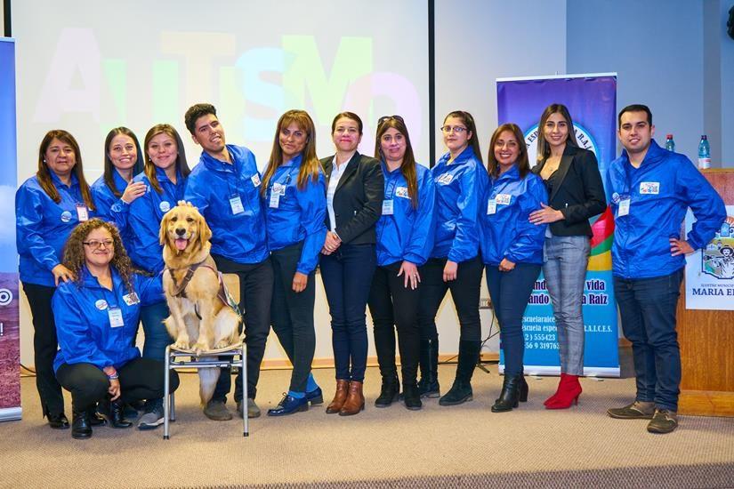 (Español) Profesionales de la educación y salud de María Elena fortalecen sus conocimientos en Autismo
