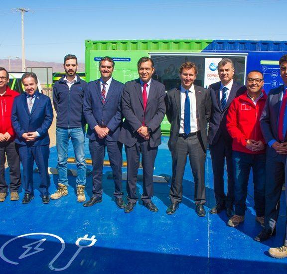 SQM inaugura el primer eco-cargador solar de Sudamérica para autos eléctricos