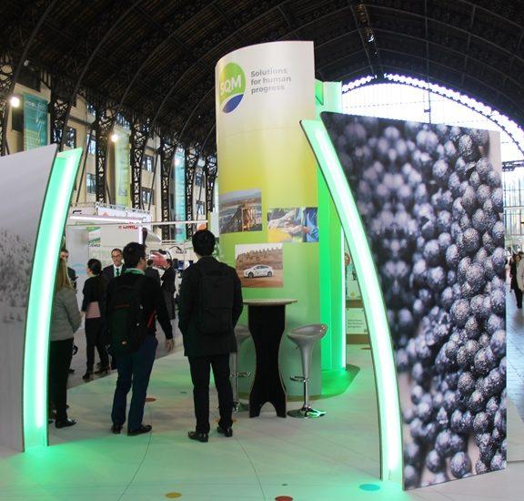 SQM participó en la primera feria internacional de electromovilidad de Chile y Latinoamérica.