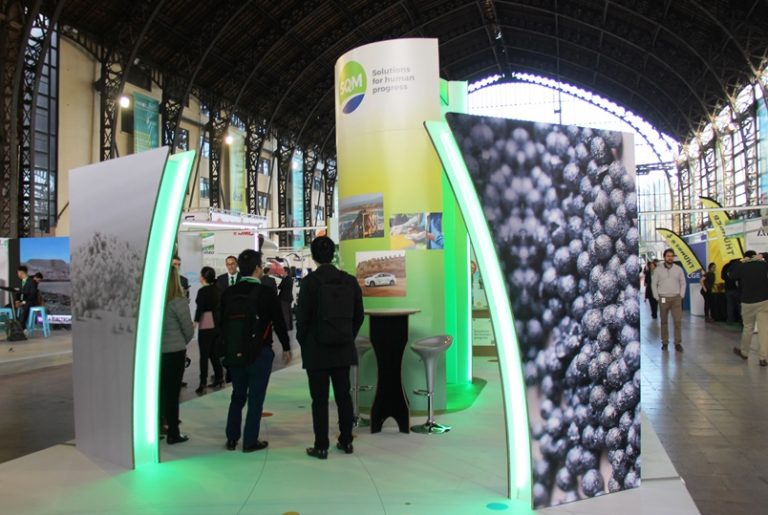 SQM Participates in First International Electromobility Fair for Chile and Latin America