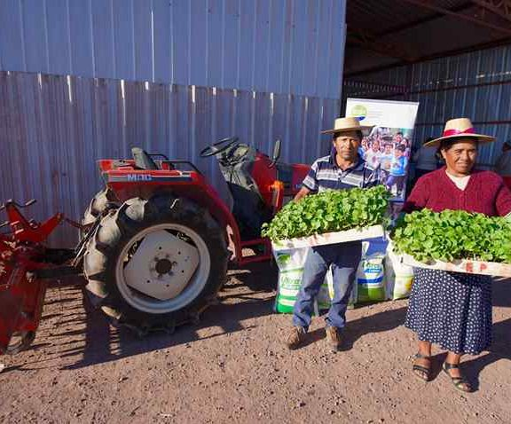 Farmers from Pintados Agricultural Colony Strengthen Local Farming