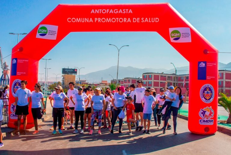 SQM Family Fun Run: Residents of Antofagasta Gather to Promote Sports and Healthy Living