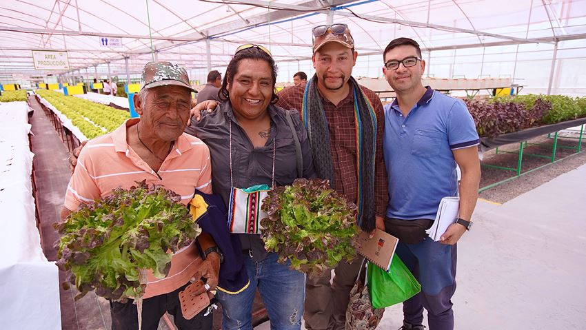 CONADI Values Hydroponic Greenhouse's Contribution to Agricultural Development in Pozo Almonte