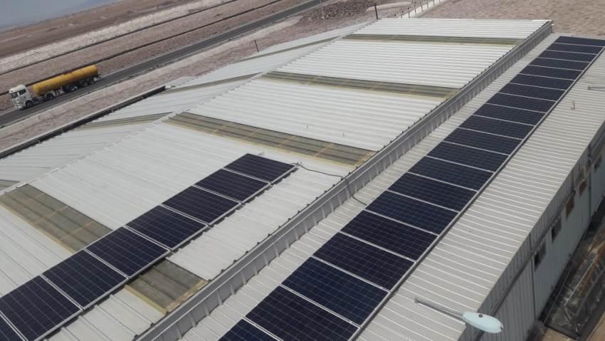 Salar de Atacama Boasts First Self-Sustainable Maintenance Shop