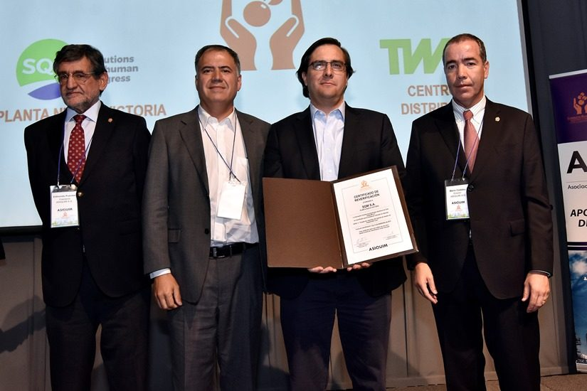 SQM Recertified in Responsible Conduct in the Chemical Industry