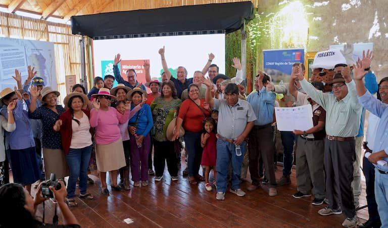 Plantarán 30 hectáreas de alfalfa para ganado de la Pampa del Tamarugal
