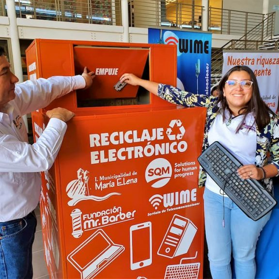Recycling Project in María Elena to Represent Chile at RedEAmérica International Forum