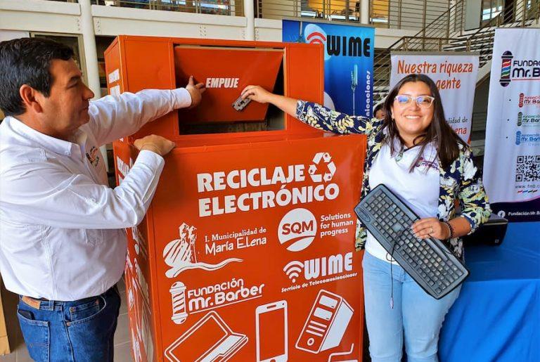 Proyecto de reciclaje de María Elena representará a Chile en foro internacional RedEAmérica