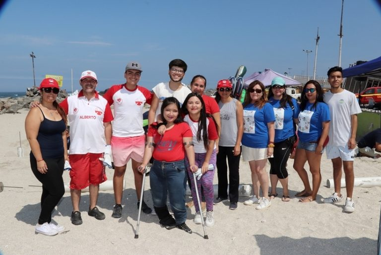 Tocopilla Residents Enjoy First Inclusive Beach