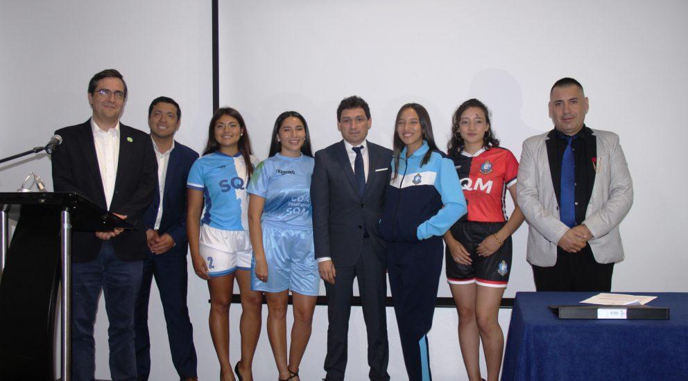 Club Deportivo SQM Salar se convierte en sponsor de la rama femenina del CDA