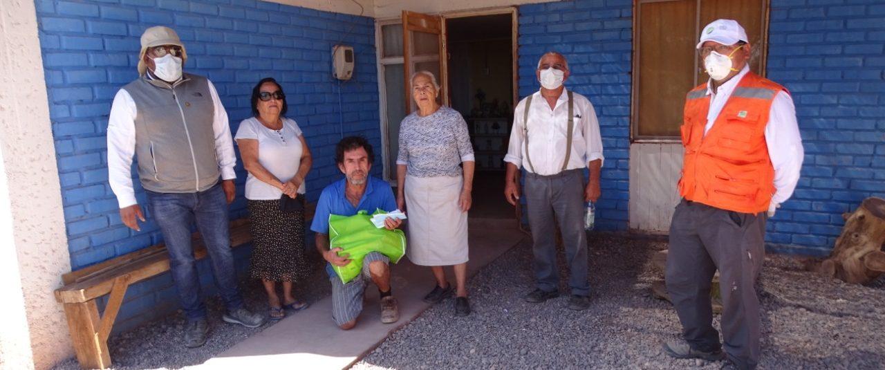 SQM junto a los adultos mayores previenen el contagio del Covid-19