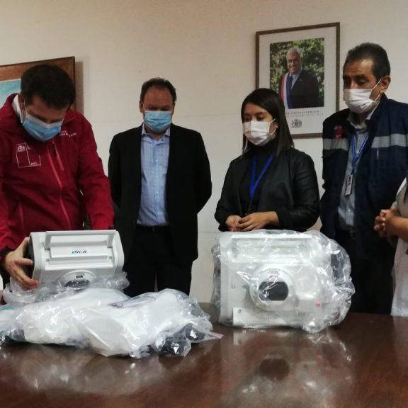 SQM Donates Two Mechanical Ventilators to the Antofagasta Region's Public Healthcare Network