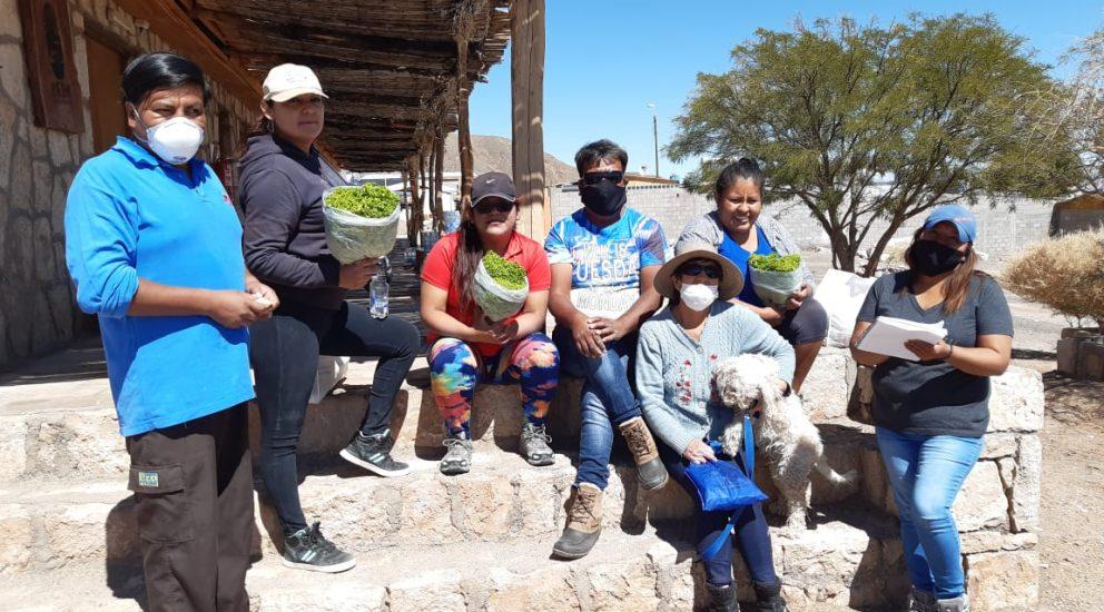 ¡En terreno! Junto a las comunidades aledañas al Salar de Atacama