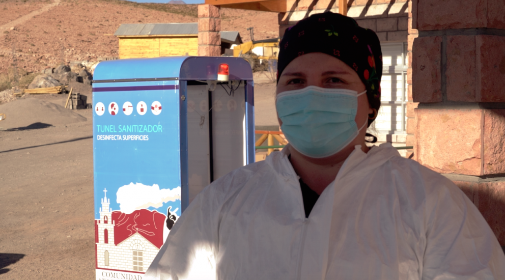 Comunidad de Talabre cuenta con equipo médico y albergue sanitario