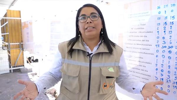 En Faena SQM: Carolina Tabilo