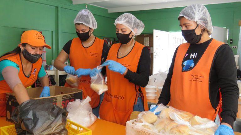 Trabajadores de SQM apoyan a Comedores Solidarios de Calama