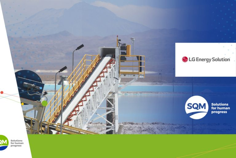 SQM y LG firman alianza