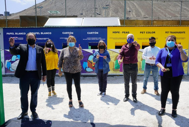 Region's First Smart Recycling Center Opens in Tocopilla