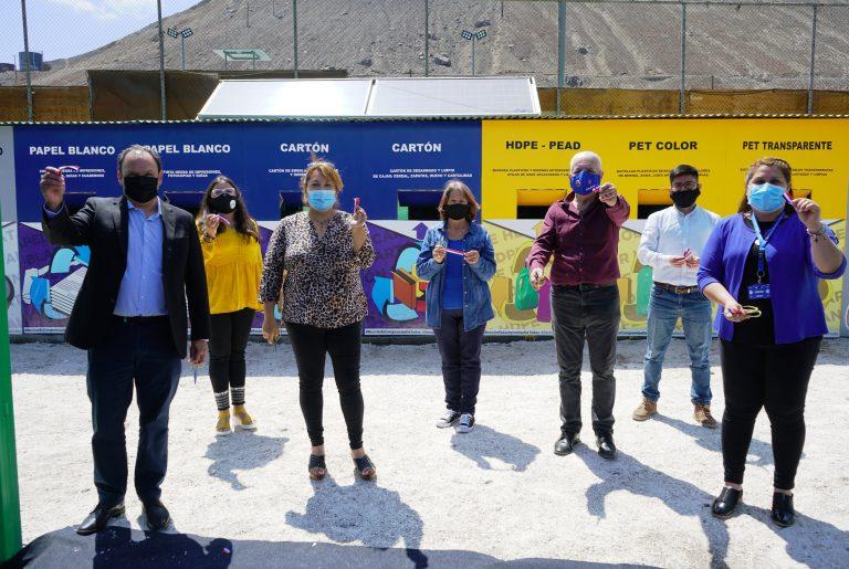 En Tocopilla se inauguró el primer Punto Limpio Smart de la región
