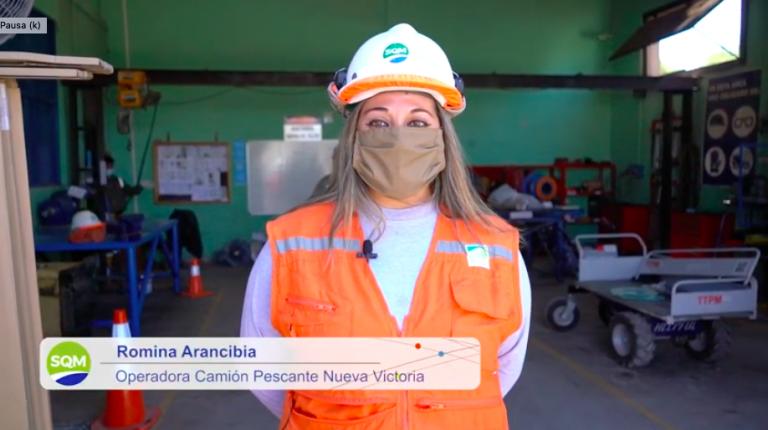 En Faena: Romina Arancibia