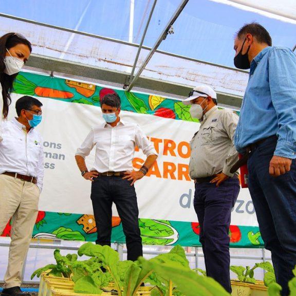 Ministro de Ciencias destaca trabajo colaborativo del Centro de Investigación y Desarrollo Agropecuario de Pozo Almonte