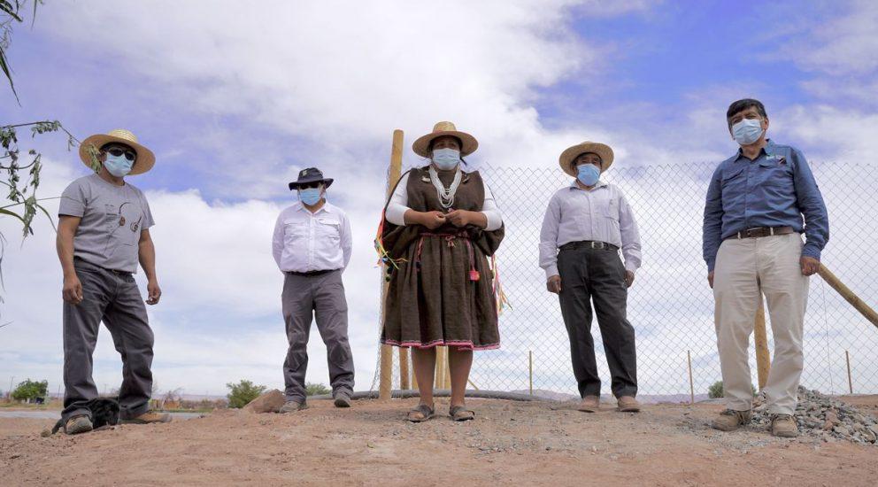 Familias de la Colonia Agrícola de Pintados fortalecerán agricultura con nuevos acopios de agua
