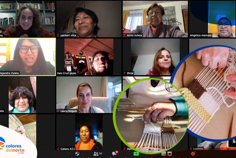 Tejedoras lickanantay llevan el oficio ancestral al mundo digital