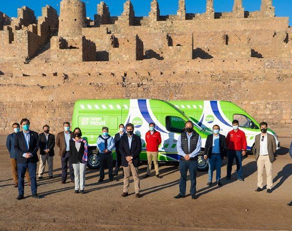 Minería regional inauguró primera flota de Talleres Móviles Eléctricos